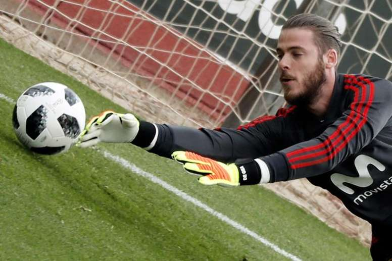 De Gea revealed his feelings during the night of his failed move. EFE