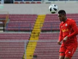 Ismael Díaz, de 21 años, jugará el Mundial con Panamá.