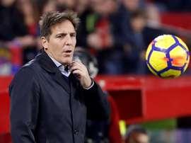 Berizzo, entrenador del Athletic. EFE/Archivo