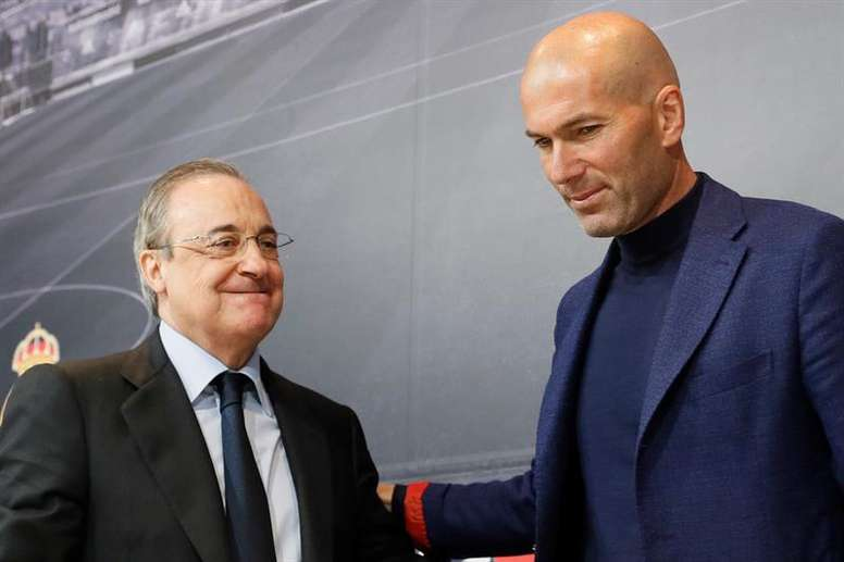 The agreement between Florentino Perez and Zidane - BeSoccer