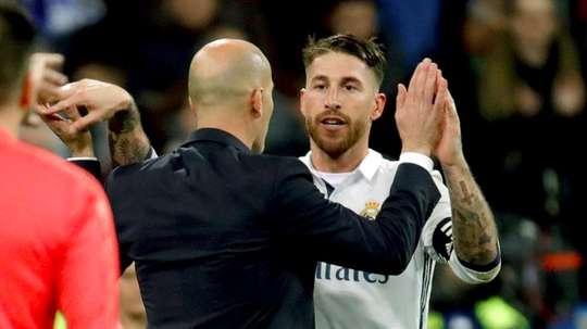 Ramos a obtenu l'aval de ZZ. EFE