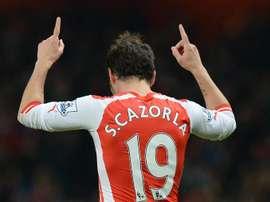 Cazorla was at Arsenal for six seasons. EFE