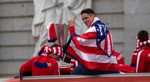 Torres promet de revenir à l'Atlético. EFE