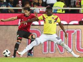 Jefferson Lerma impressed at the World Cup this summer. EFE