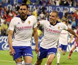 Borja Iglesias proche de l'Espanyol. EFE