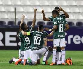 Palmeiras remontó en el 'clásico' ante Sao Paolo. EFE