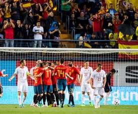 España debe medir su falta de gol. EFE