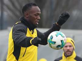 Bolt tendrá por fin su debut en el fútbol profesional. EFE