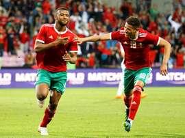 Los marroquíes dejan su carta de presentación a pocos días del comienzo del Mundial. EFE