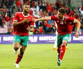 Marruecos ganó con solvencia a Estonia. EFE