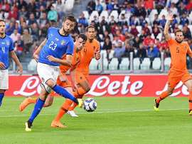 Ni Italia ni Holanda pudo imponerse en el marcador. EFE
