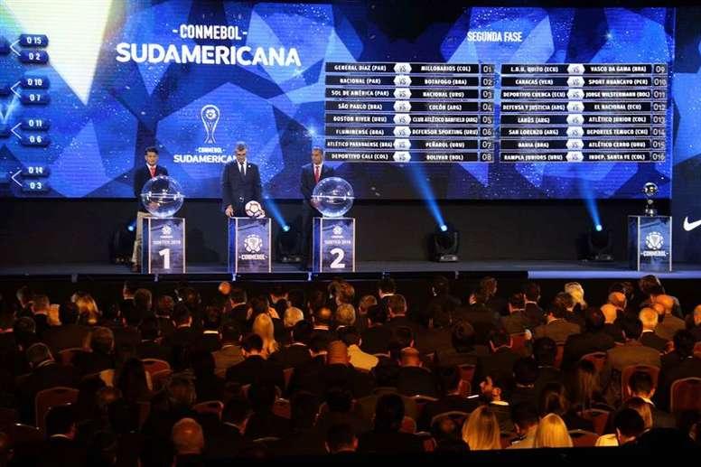 La CONMEBOL anuncia cambios en la Libertadores y la Sudamericana. EFE