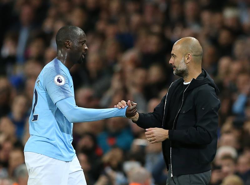 International : Guardiola répond à Yaya Touré :
