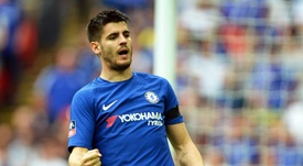 Morata could be headed back to Serie A. EFE/Archive