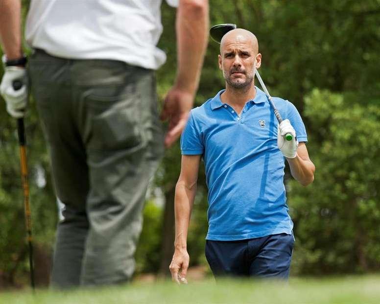 Elogios de Guardiola. EFE