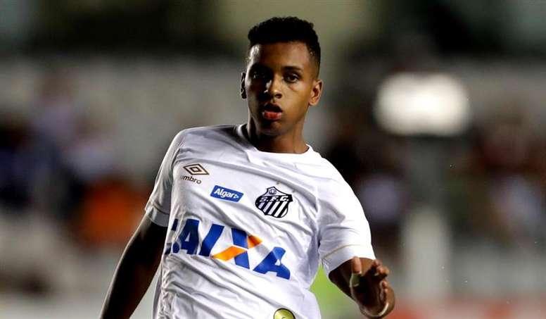 Alineaciones confirmadas en el Santos-América RN. EFE/Archivo