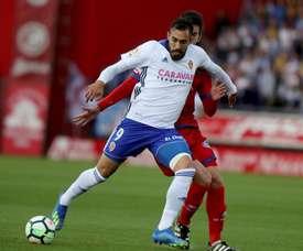 Borja Iglesias pourrait changer de club. EFE