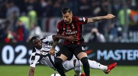 Suso espera que el Milan vuelva a la Champions. EFE