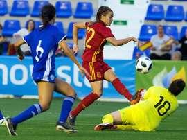 España venció 2-0 a Israel y dejó prácticamente sellada su presencia en Francia 2019. EFE