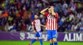 La cesión de Jony al Alavés se hizo oficial este domingo. EFE