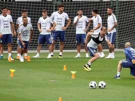 Argentina planea cambios ante Croacia. EFE/Archivo