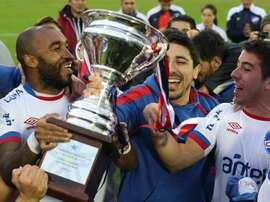 Nacional gana la segunda copa en el Torneo Intermedio. EFE