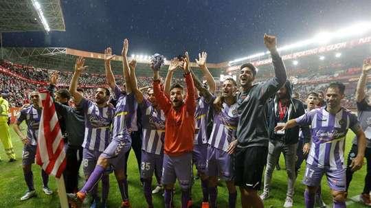 El Valladolid espera subir. EFE