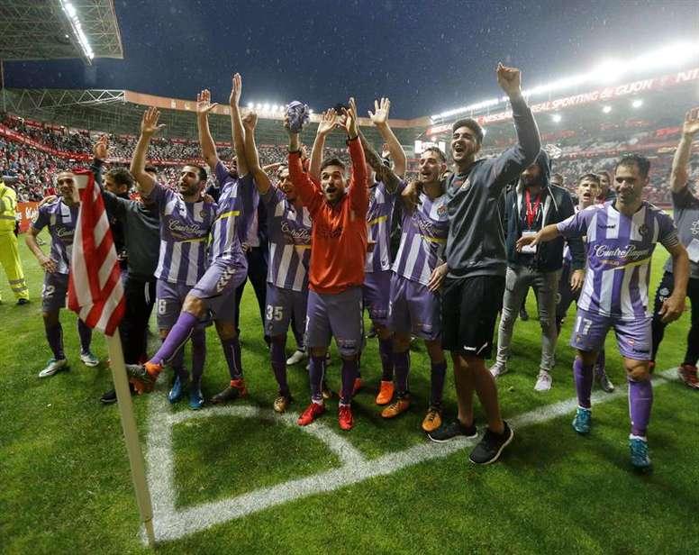 El Valladolid juega la vuelta en casa. EFE