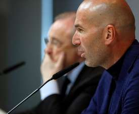 Zidane has been without a job since May. EFE
