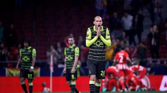 Bas Dost va aller en Bundesliga. EFE/Archivo