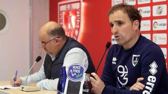 El Numancia se enfrentará este sábado al Valladolid por el ascenso. EFE