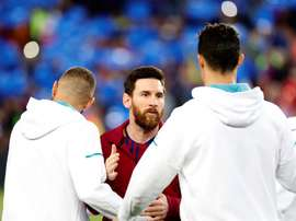 Benzema now shares a great record with Messi. EFE
