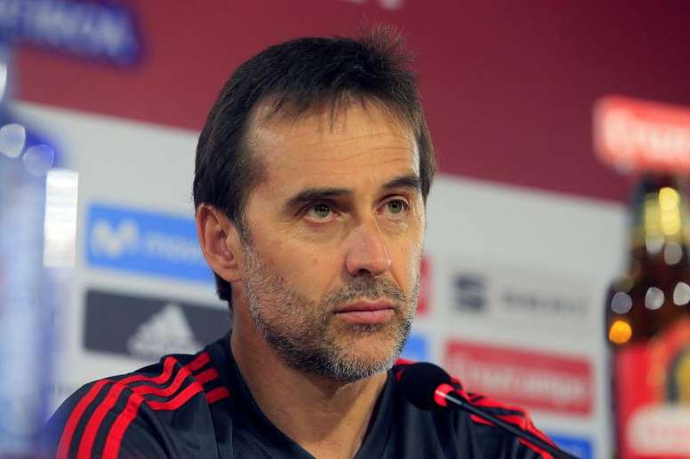 Lopetegui has been fired as Spain boss. EFE/Archive