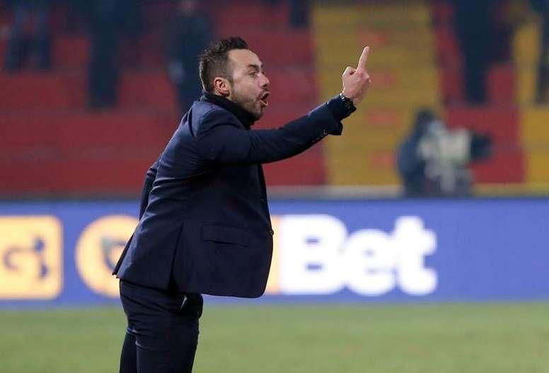 En el Milan saben muy bien de lo que es capaz el técnico del Sassuolo. EFE