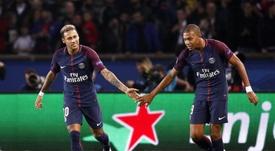 Mbappé tiene claro que Neymar es la referencia. EFE/Archivo