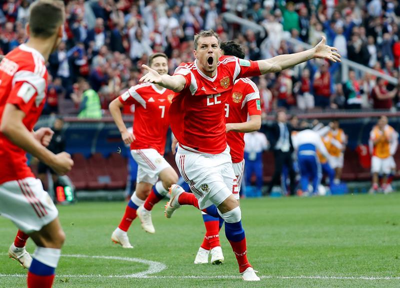 Russian Federation  crush sorry Saudi Arabia in World Cup opener