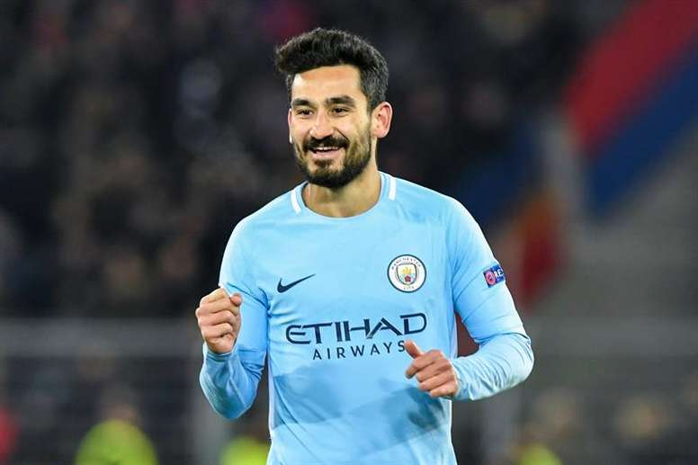 Ilkay Gundogan is reportedly ready to commit to Manchester City long-term. EFE/Archivo