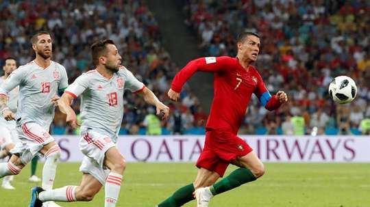 Spain and Portugal could host a joint World Cup. EFE