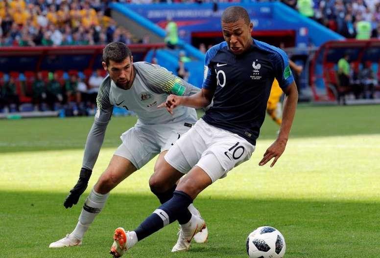Ça fait cher la Coupe du monde. EFE