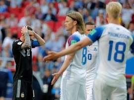 Islandia descendió en la Liga de Naciones. EFE