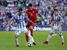 El Valladolid hizo buena la renta de la ida. EFE