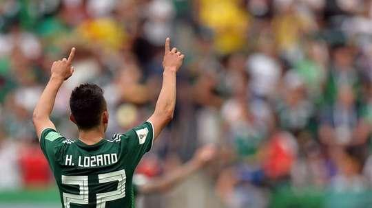 Lozano tuvo unas palabras de cariño para Osorio. EFE