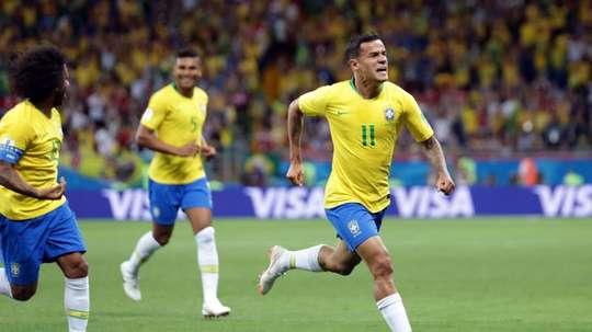 Brasil jugará dos amistosos en septiembre. EFE