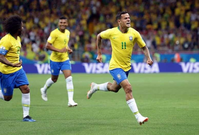 Coutinho intéresse le PSG. EFE