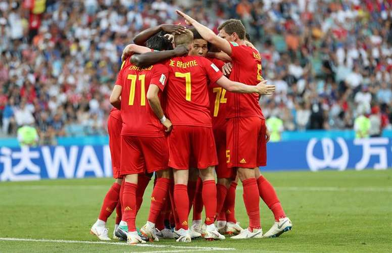 Belgium will look to get a second win in the tournament against Tunisia. EFE