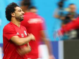 Salah joue son dernier match. EFE