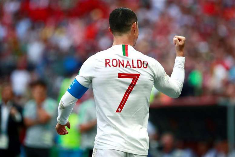 Portugal-Marruecos, del Grupo B del Mundial de Fútbol de Rusia 2018. EFE