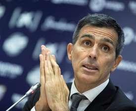Muñiz hizo autocrítica tras la derrota. EFE