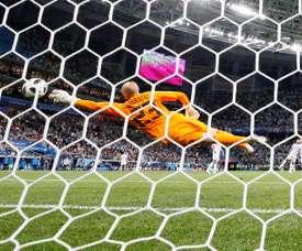 Caballero a fait une boulette en Coupe du monde. EFE