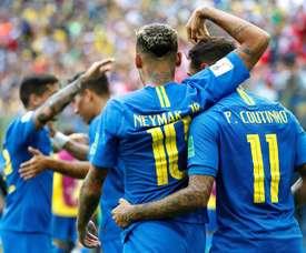 Neymar et Coutinho doivent faire attention. EFE